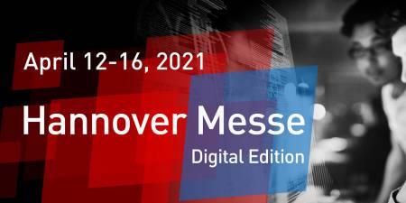 Vabljeni na HANNOVER MESSE DIGITAL med 12. in 16. aprilom 2021