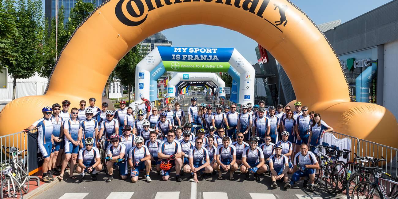 Kolektor ponovno z najštevilčnejšo ekipo na Maratonu Franja