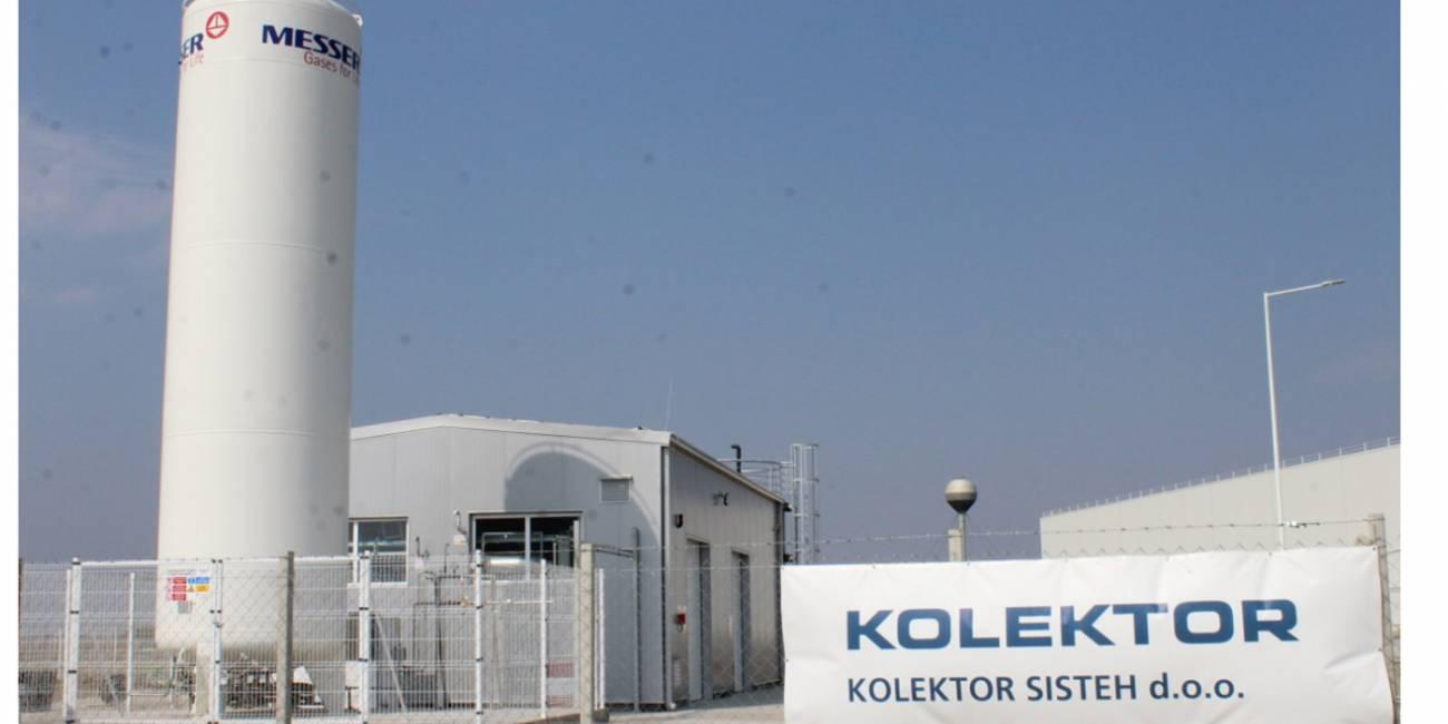 Namenu predali čistilno napravo v industrijski coni Ruma v Srbiji