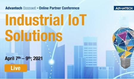 Novi spletni webinarji Advantech Industrial IoT Solutions, 7. - 9. april 2021