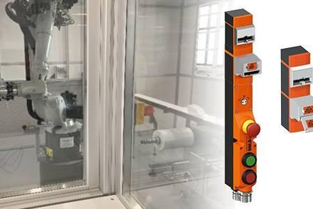 Varovan dostop do robotske celice