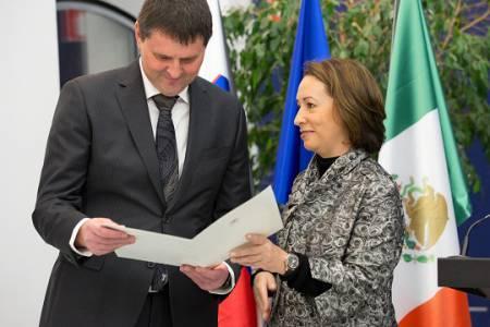 Valter Leban je novi častni konzul Mehike v Sloveniji